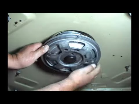Transmission Checking Maytag 2 Belts Top Load Washers