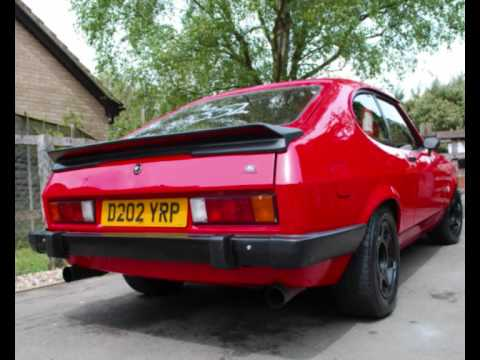ford capri special for sale youtube. Black Bedroom Furniture Sets. Home Design Ideas