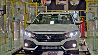 Novo Honda Civic - Fabricação em detalhes
