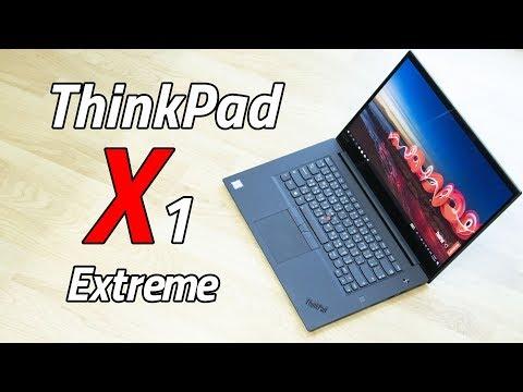 Review - Lenovo ThinkPad X1 Extreme เทพ ถึก ทนทาน ทำงานเก่ง เล่นเกมลื่น