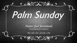 04 05 2020 Palm Sunday