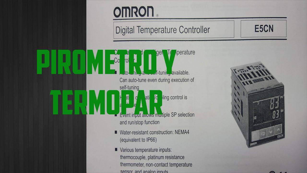 Dispositivos Para Control De Temperatura Parte 1 - YouTube