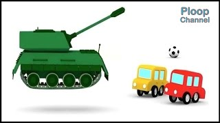 Cartoon Cars -TANK GAME - Cars Cartoons for Children - Childrens Animation Videos for kids