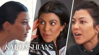 6 Times Kourtney Kardashian Couldn't Keep Away From the Drama | KUWTK | E!
