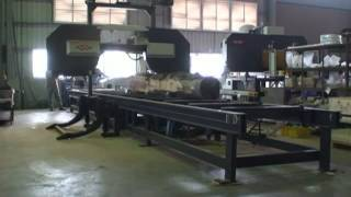 Blue Steel Machinery Co    Horizontal Band Resaw, Band Resaw   Band Saw, Thin Kerf Band Resaw, Log S
