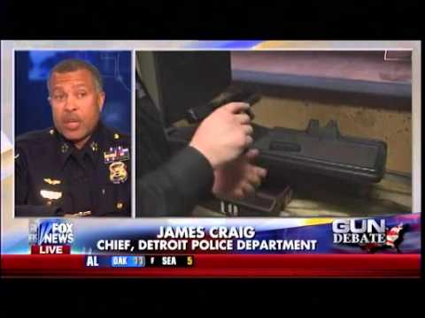 A Call To Arms - Detroit Top Cop Armed Citizens Lower Crime - Gun Debate - Fox & Friends