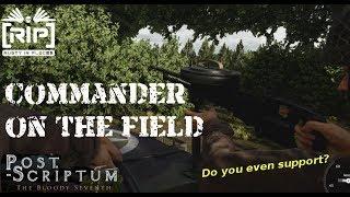 Post Scriptum - Commander on the Field - Jeep Combat!