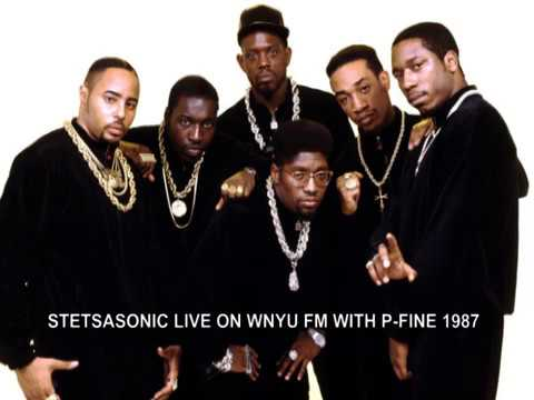 STETSASONIC LIVE ON WNYU FM WITH P FINE 1987