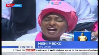 Women leaders in full support of the President and opposition leader Odinga