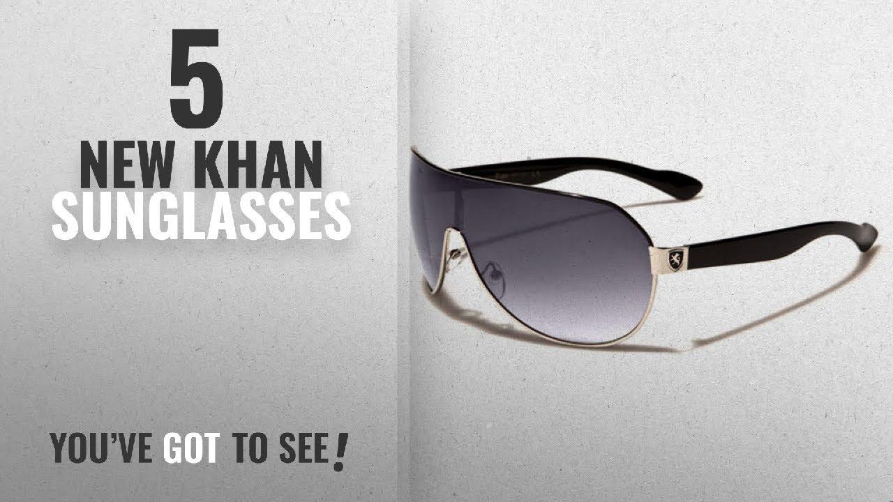 2c8c0f670087 Top 10 Khan Sunglasses   Winter 2018    Men s Flat Top Sport Shied Aviator  Sunglasses - Multiple