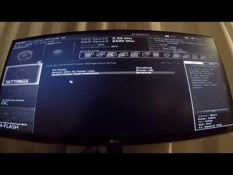 Configurer La Carte Mère MSI Z270 A PRO Pour Le Mining