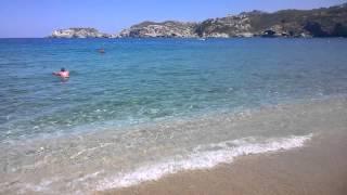 Пляж Агия Пелагия на Крите 15 мая 2015 г.(вода достаточно теплая для этого времени, минимум +22, а то и +23, не хотелось выходить в воздухе была легкая..., 2015-05-16T09:09:20.000Z)