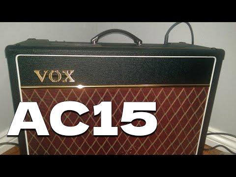 Vox AC15  - Walkthrough & Demo