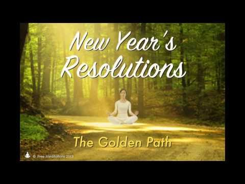 Free Meditations • New Year's Resolutions Guided Meditation