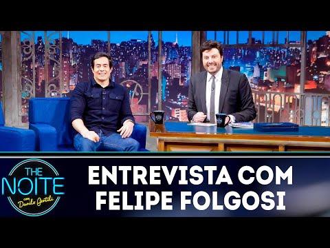 Entrevista com Felipe Folgosi   The Noite (28/09/18)