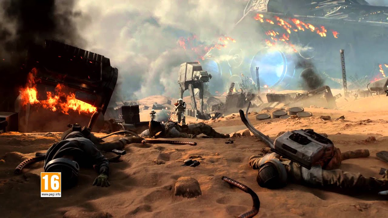 star wars: battlefront | battle of jakku trailer - youtube