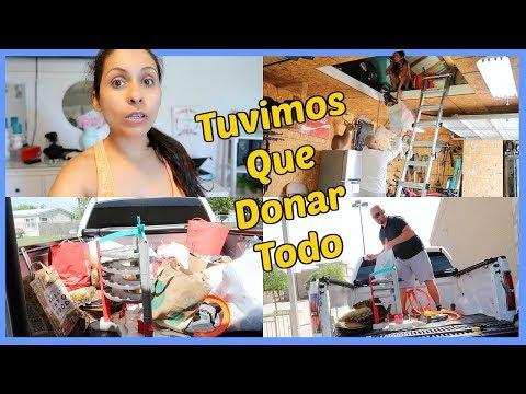 Limpieza de Primavera , Tuvimos que Donar Todo al Salvation Army -  ♡IsabelVlogs♡