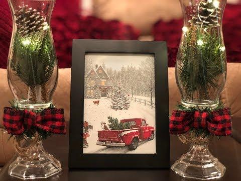 DIY Dollar Tree Farmhouse Christmas Decor