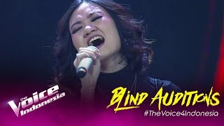 Saly - Defying Gravity   Blind Auditions   The Voice Indonesia GTV 2019