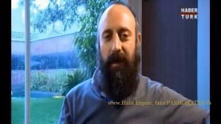 Halit Ergenc & Berguzar Korel in HABERTURK tv 6/7/2013