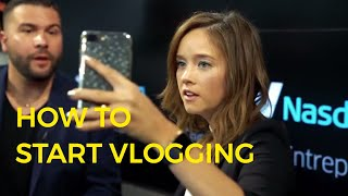 How To Vlog Like A Boss with Amy Schmittauer (Official Trailer)