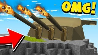 10 INSANE MINECRAFT WEAPONS!