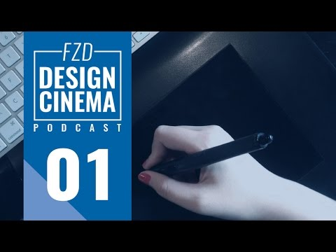 Design Cinema Podcast EP 1 – Career in Concept Art