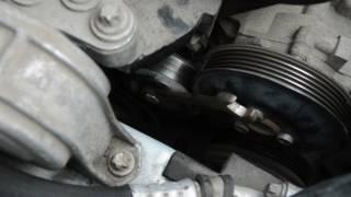 Замена ремня генератора, и ролика натяжителя Z16XER  Opel Zafira B