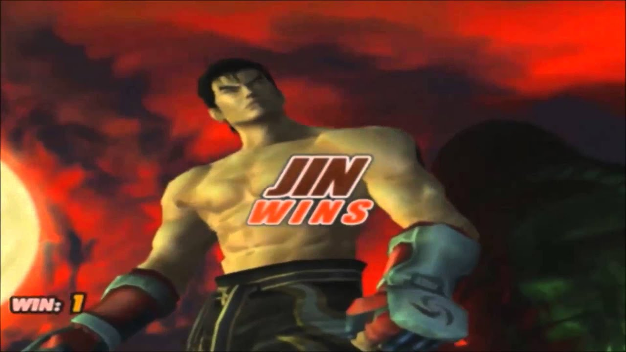 Tekken 5 Jin Kazama All Intros Win Poses Youtube