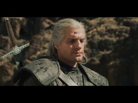 Netflix -The Witcher Epic Scene - Jaskier Song -Toss a coin to your witcher - HD Music Video