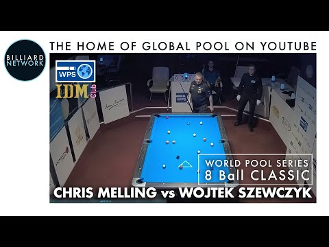 WPS - Chris Melling Vs Wojtek Szewczyk - 8 Ball - Race To 13 - IDM Club