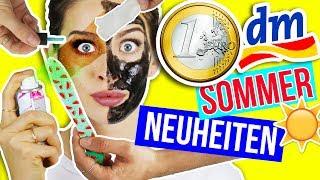 10 NEUE 1€ DM SOMMER PRODUKTE im LIVE TEST!! 😲 DROGERIE HAUL JUNI | NEUHEITEN