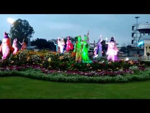 Prem Mandir Radha Krishna Raas Leela Open Garden