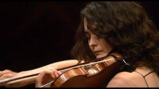 Koncert skrzypcowy d-moll op.47 Jeana Sibeliusa (skrzypce: Alena Baeva, dyrygent: Maxim Vengerov)