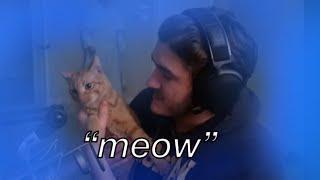 Jschlatt and his cat