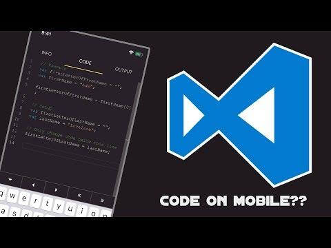 VSCode On Mobile! Start Coding On Mobile Phones