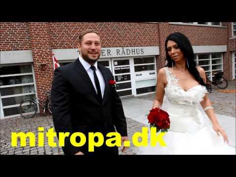 Just married in Tønder in Denmark