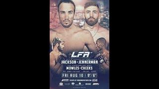 LFA 47 tonight Damon Jackson and Nate Jennerman for the Featherweight Championship!