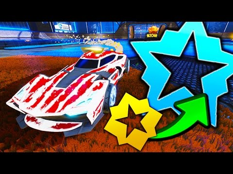 JUMPING 10 RANKS IN 3 GAMES OF ROCKET LEAGUE!!!? WTF!