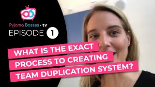 Gambar cover The exact network marketing process to creating team duplication system