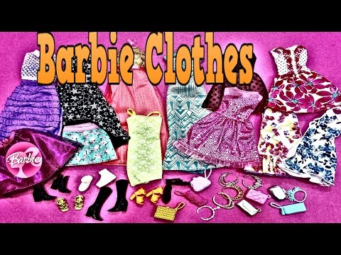 Barbie fashionistas outfits-- Barbie Fasion  Pack  party Clothes New-Barbie kıyafetleri