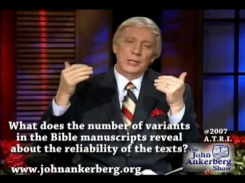 Variants in the Bible and Biblical reliability.