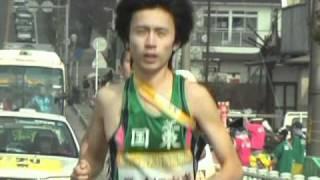 地元の応援を励みに走る 国東市 吉武選手 thumbnail