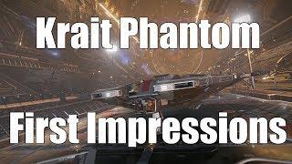 Elite: Dangerous - Krait Phantom First Impressions and FAOff Landing
