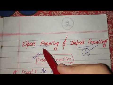Export Financing | Pre shipment & post shipment Finance.... | international business