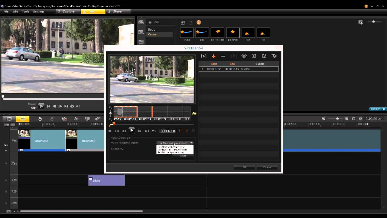 Whats New in VideoStudio Pro X6 - YouTube