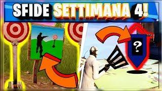 SFIDE SETTIMANA 4 FORTNITE: LUOGHI TIRO A SEGNO - STENDARDO SEGRETO (BATTLE ROYALE STAGIONE 6) thumbnail