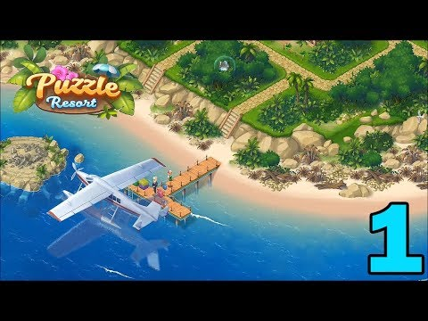 Puzzle Resort: Match-3 Game Walkthrough Gameplay - Part 1
