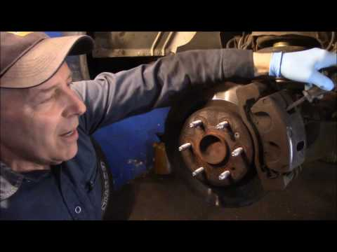 How to replace front and rear brakes and rear calipers on a 2009 Chevy Express Van