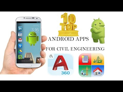 Top 10 Civil Engineering Android Mobile Apps-2017